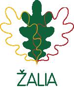 Žalio maršruto logo